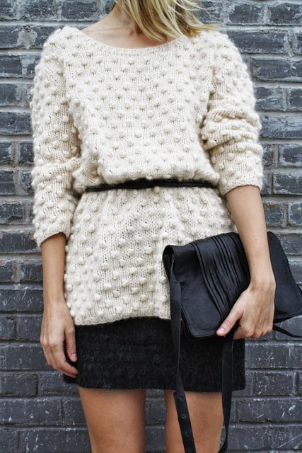 trends for cheap: knits and skirts