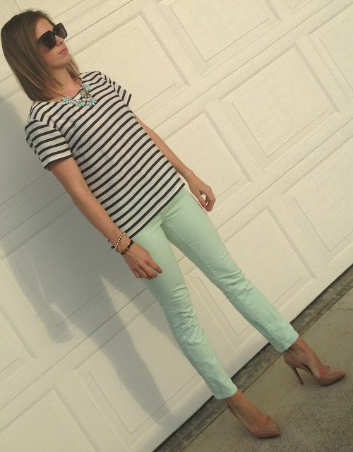 mint and stripes