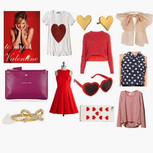navy & orange gift guide: Valentine's Day!
