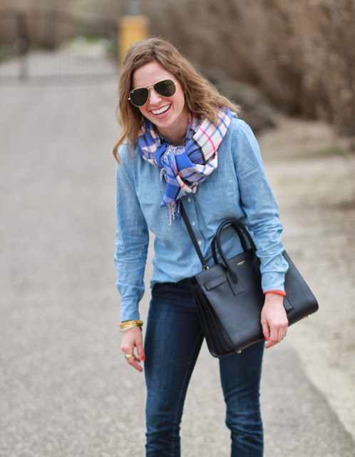 chambray on denim