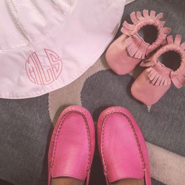 pink loafer