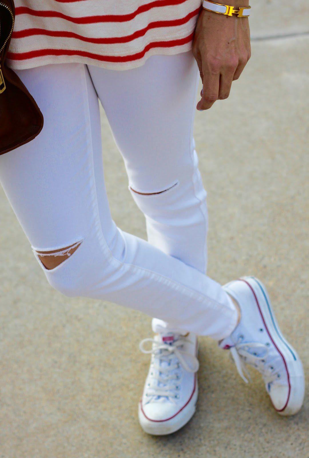 white hermes white jeans