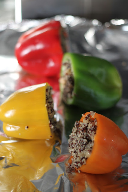 bell peppers and quinoa