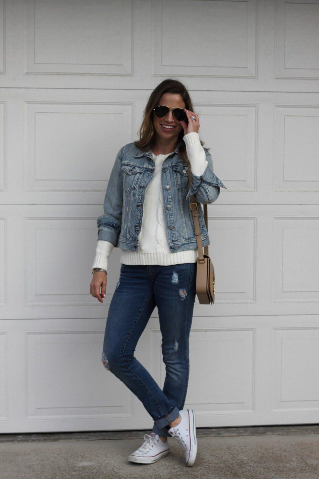 light jean jacket
