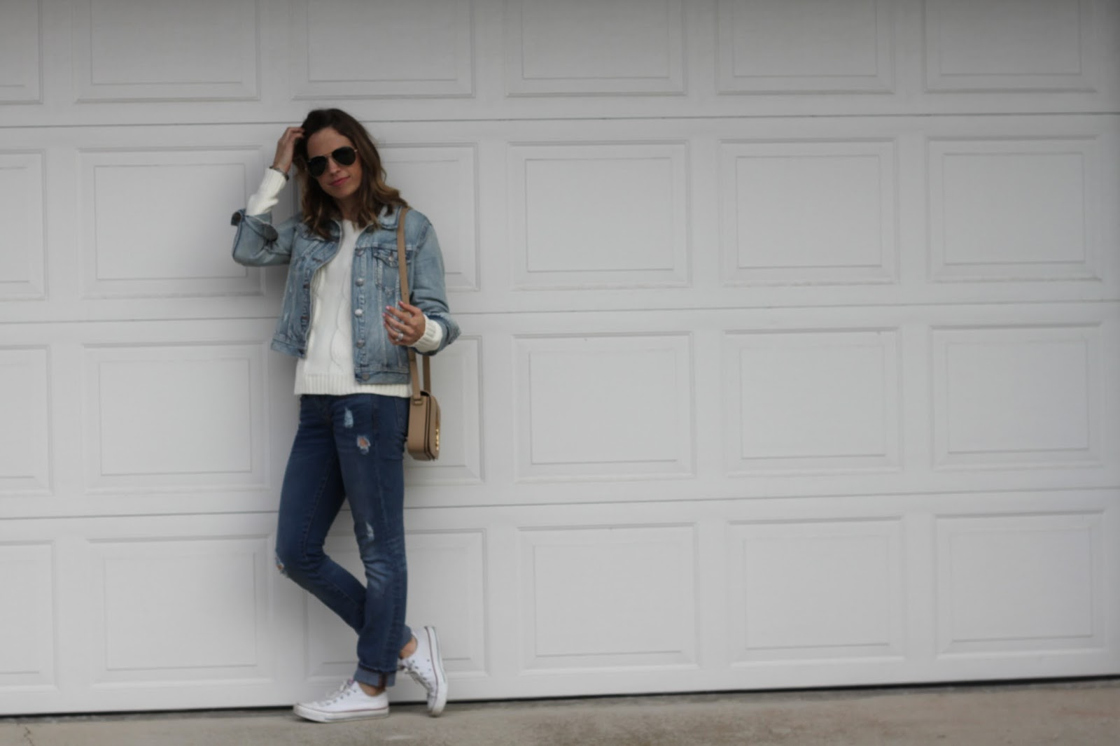 jeans and jean jacket outfit