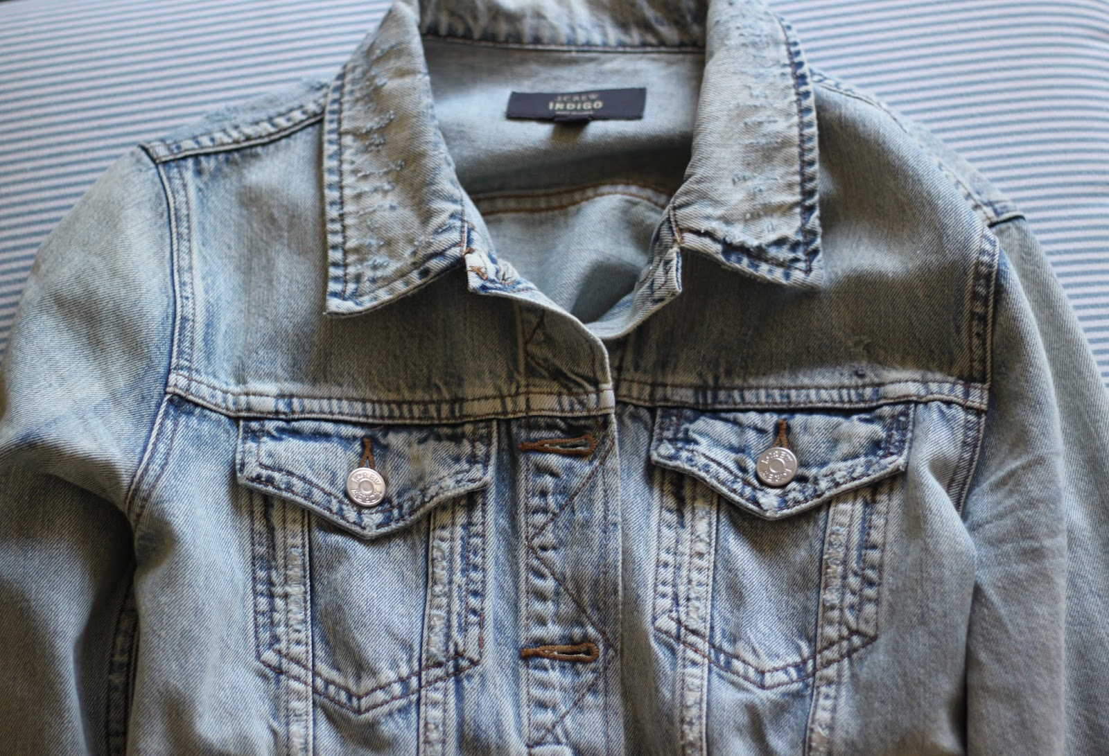 j.crew light jean jacket