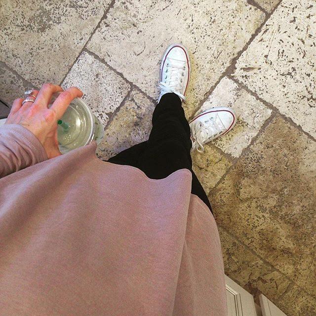 blush tunic