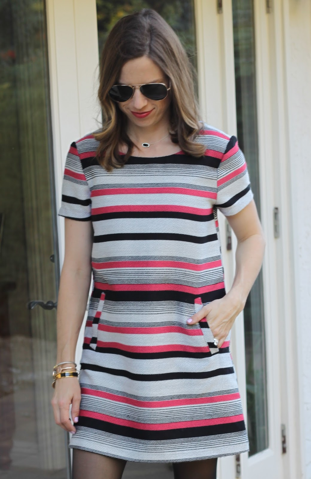 cupcakes and cashmere striped dress