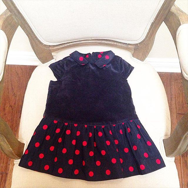 baby navy dress