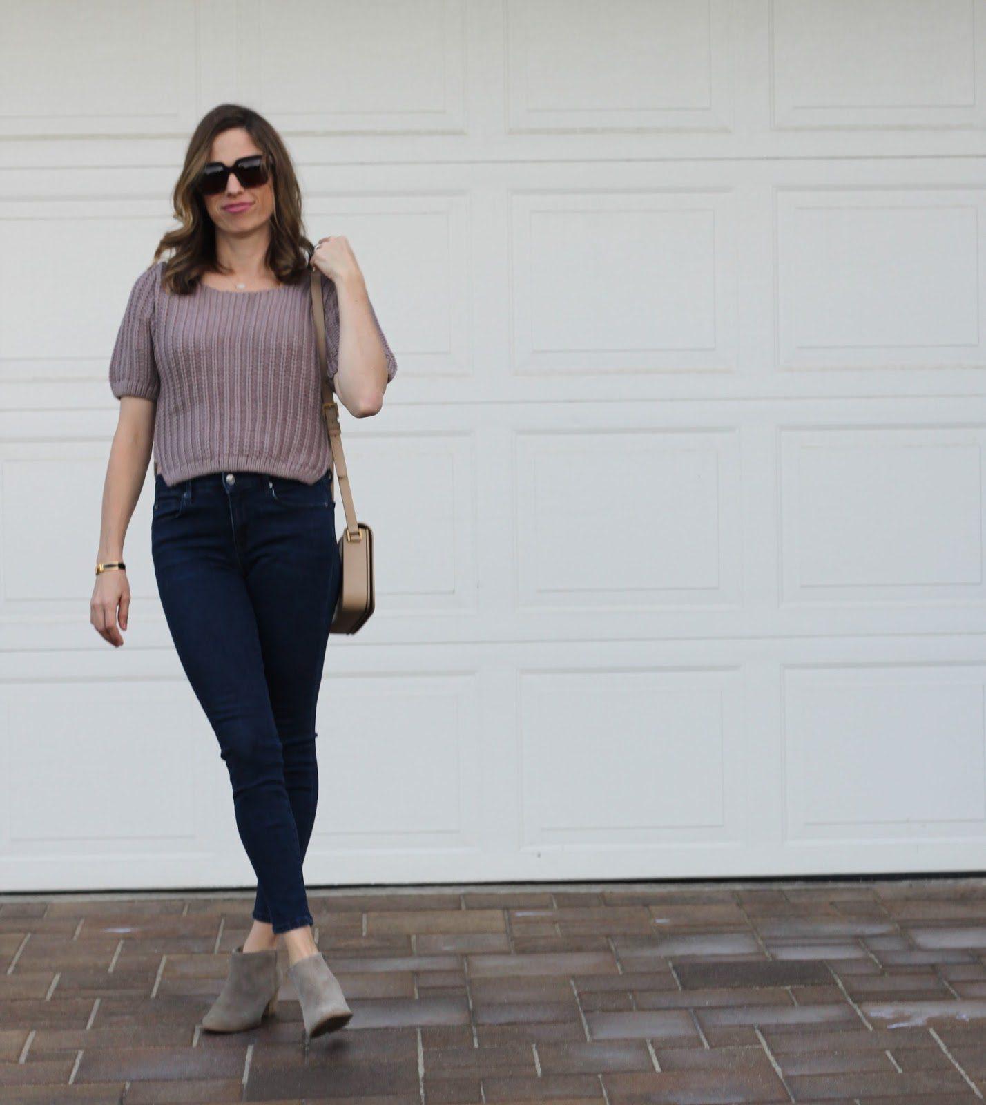 beige chunky knit