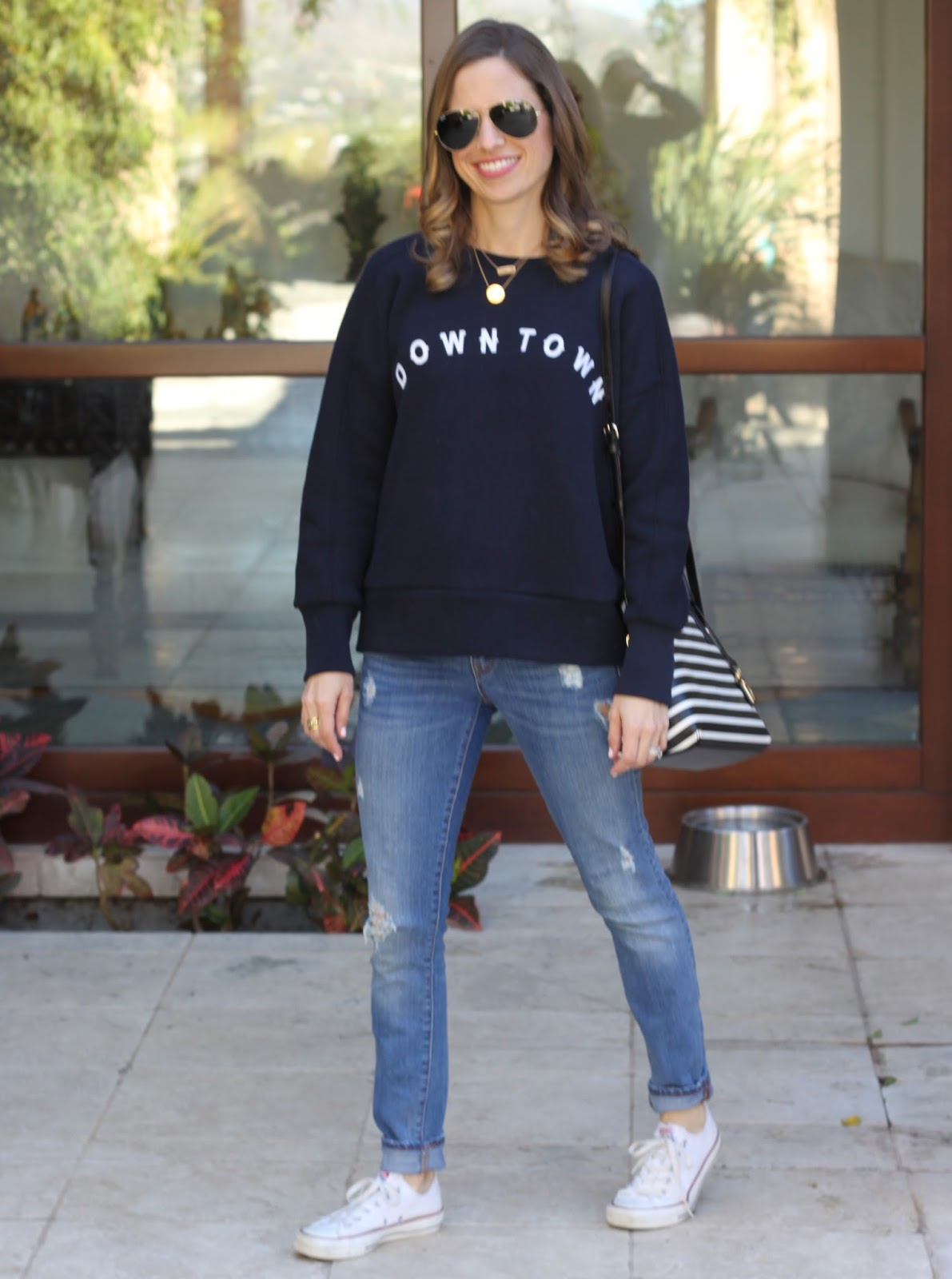 downtown sweatshirt