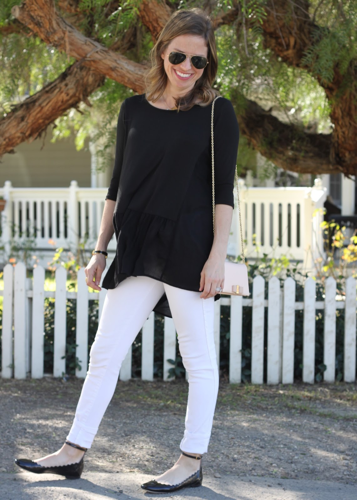 paige white skinny jeans