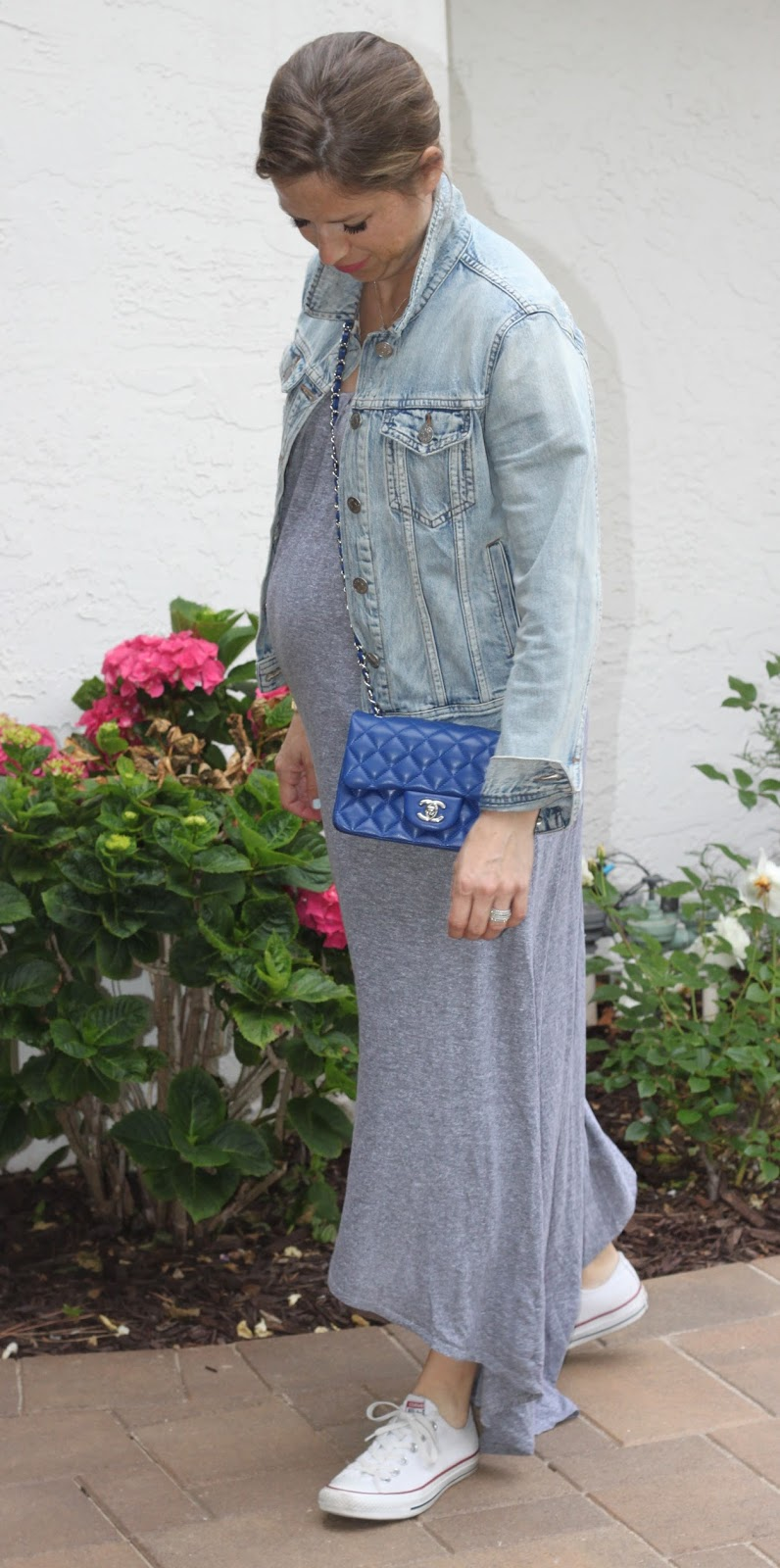 blue chanel cross body