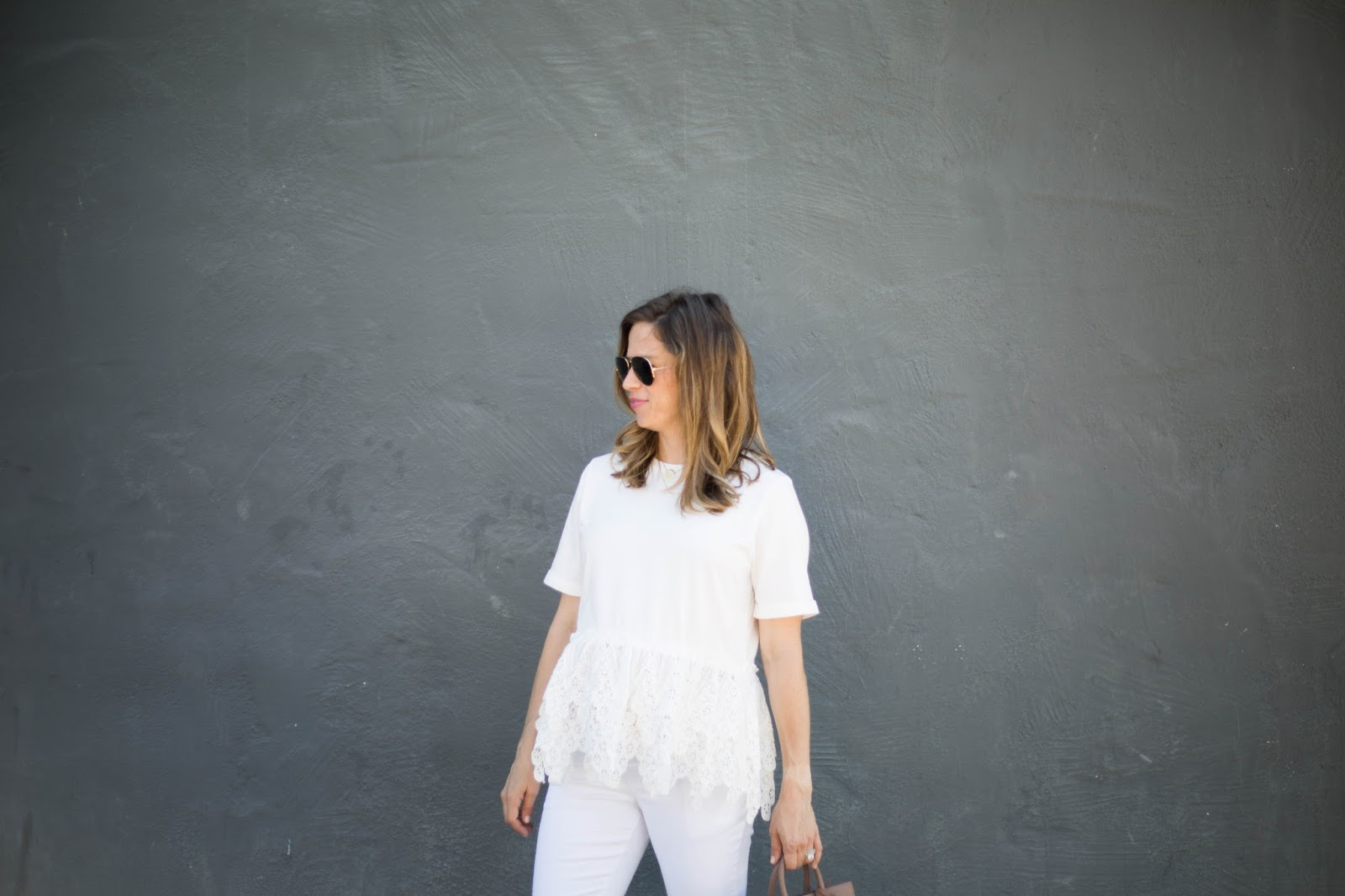 all white street style