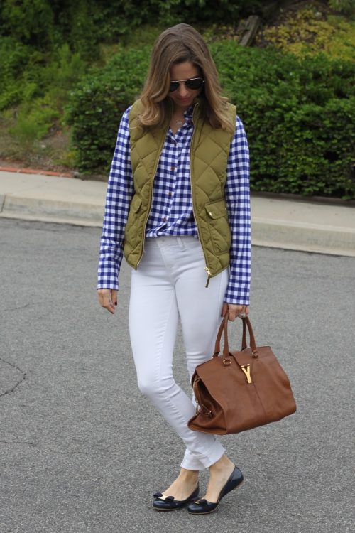 blue, white + shades of fall