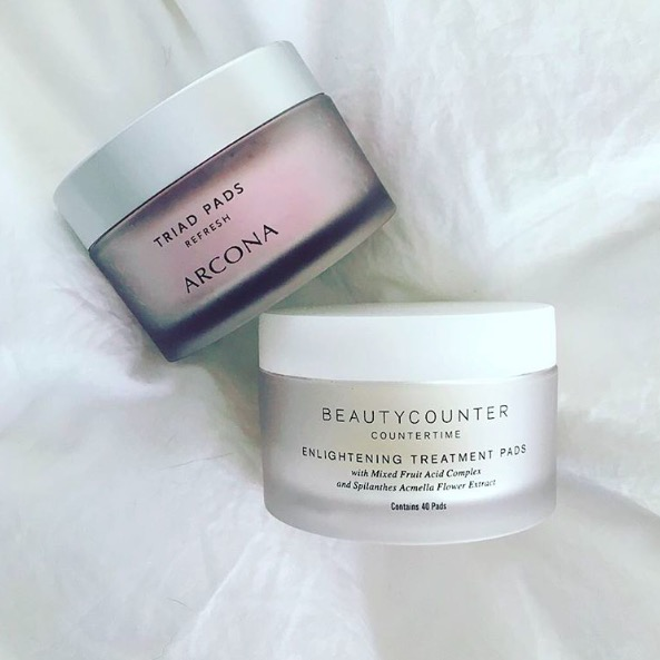 beautycounter enlightening treatment pads