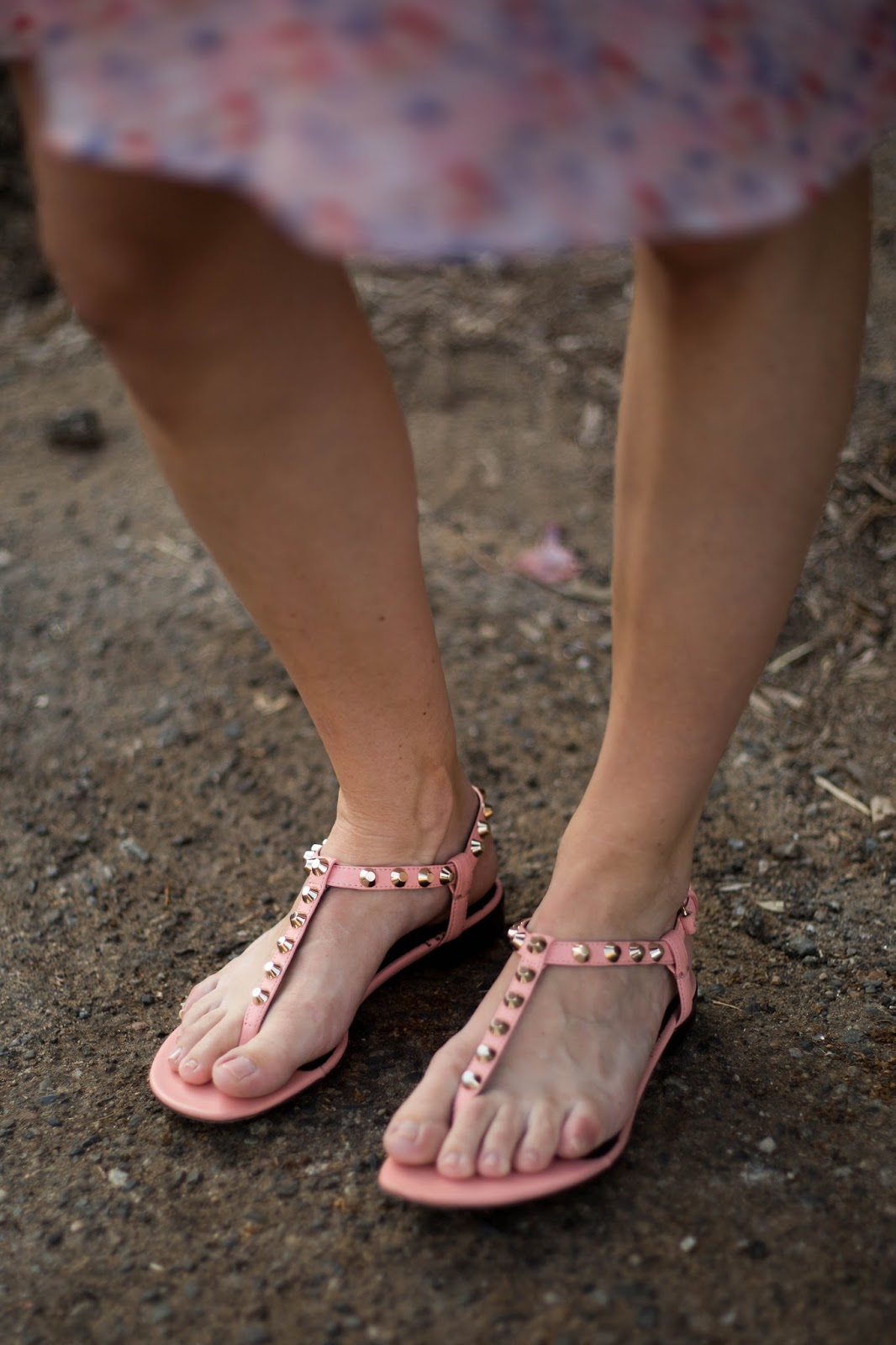 pink balenciaga sandals