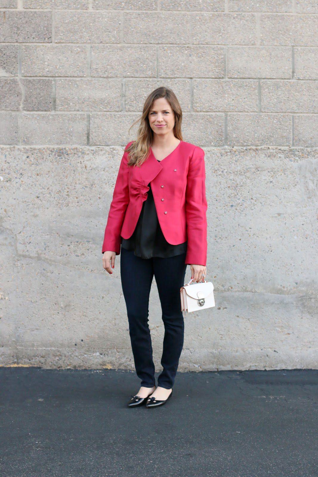 armani red jacket