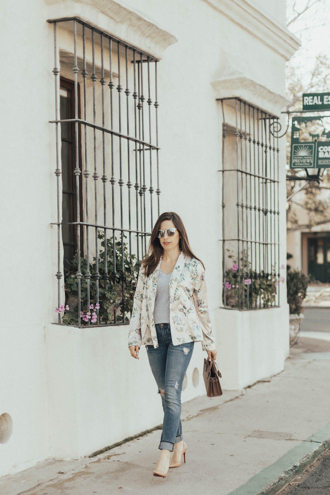 pajama jacket outfit