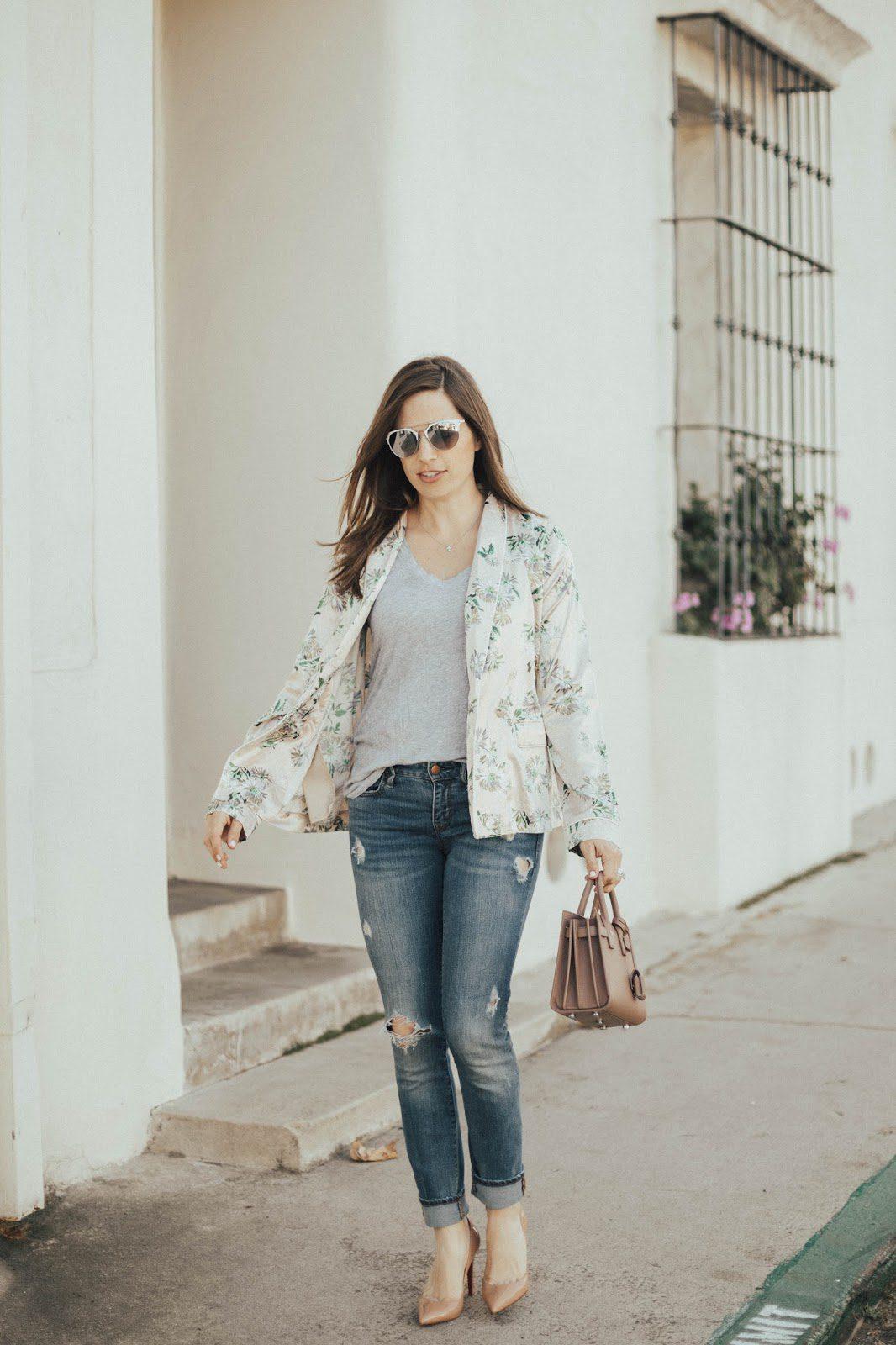 pajama street style
