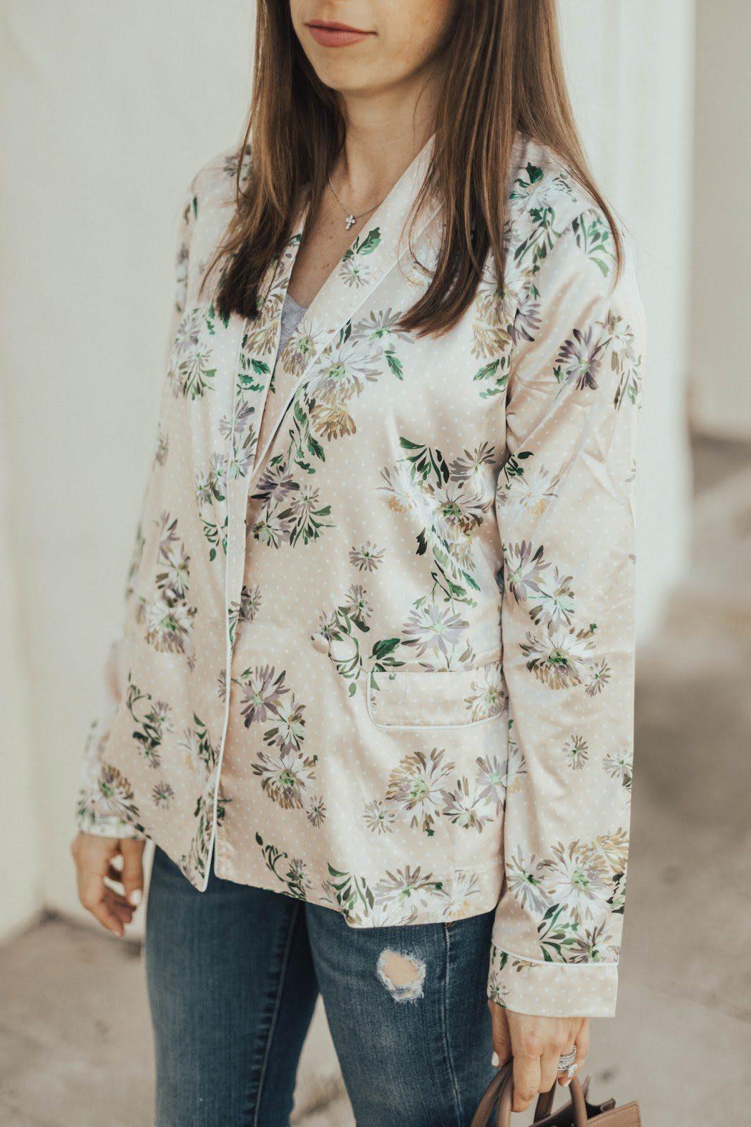 pajama style jacket