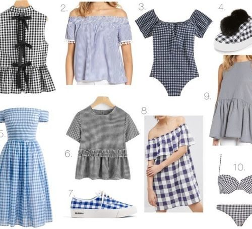 Wednesday wishlist: gingham for under $100