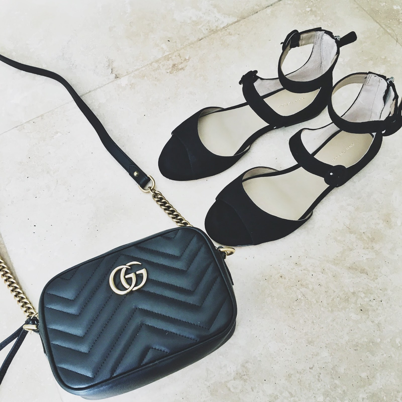 black gucci marmont mini