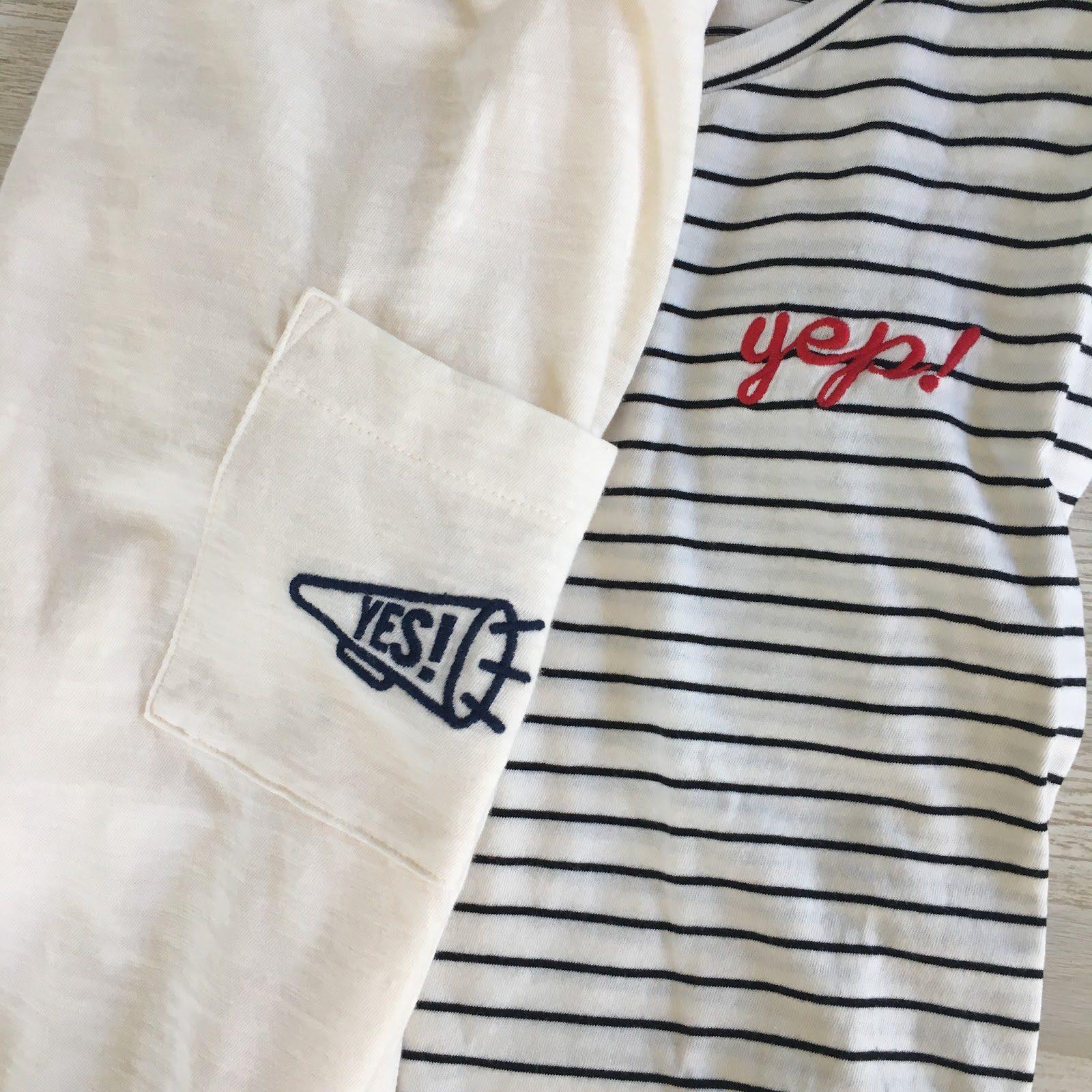 mom embroidered pocket tees