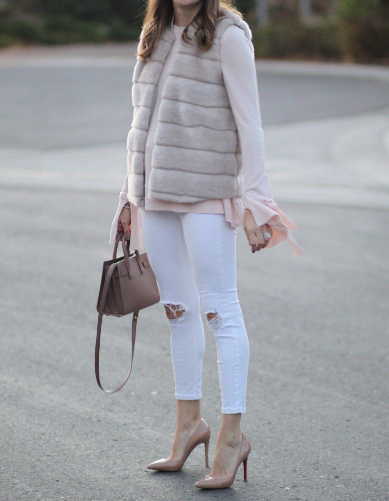 saint laurent nano bag outfit