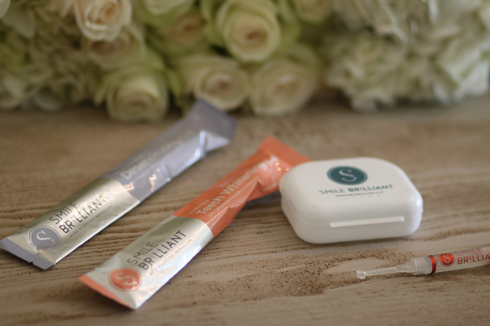 smile brilliant at home whitening
