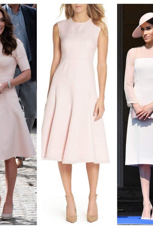 duchess style in blush pink