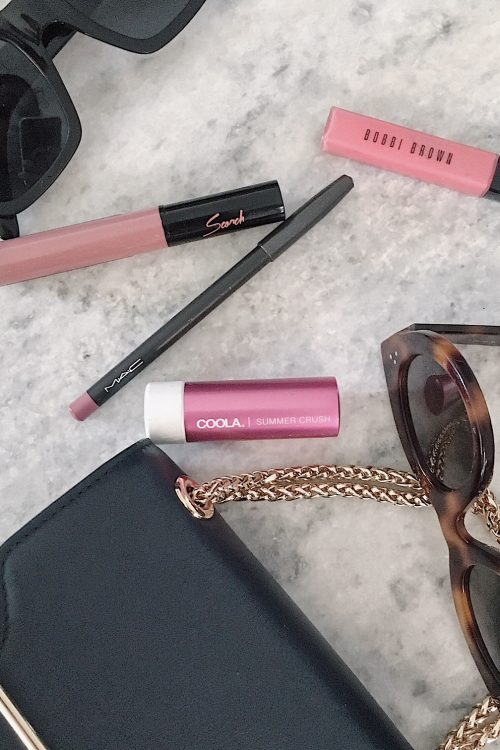 top four lip obsessions that I can't stop wearing