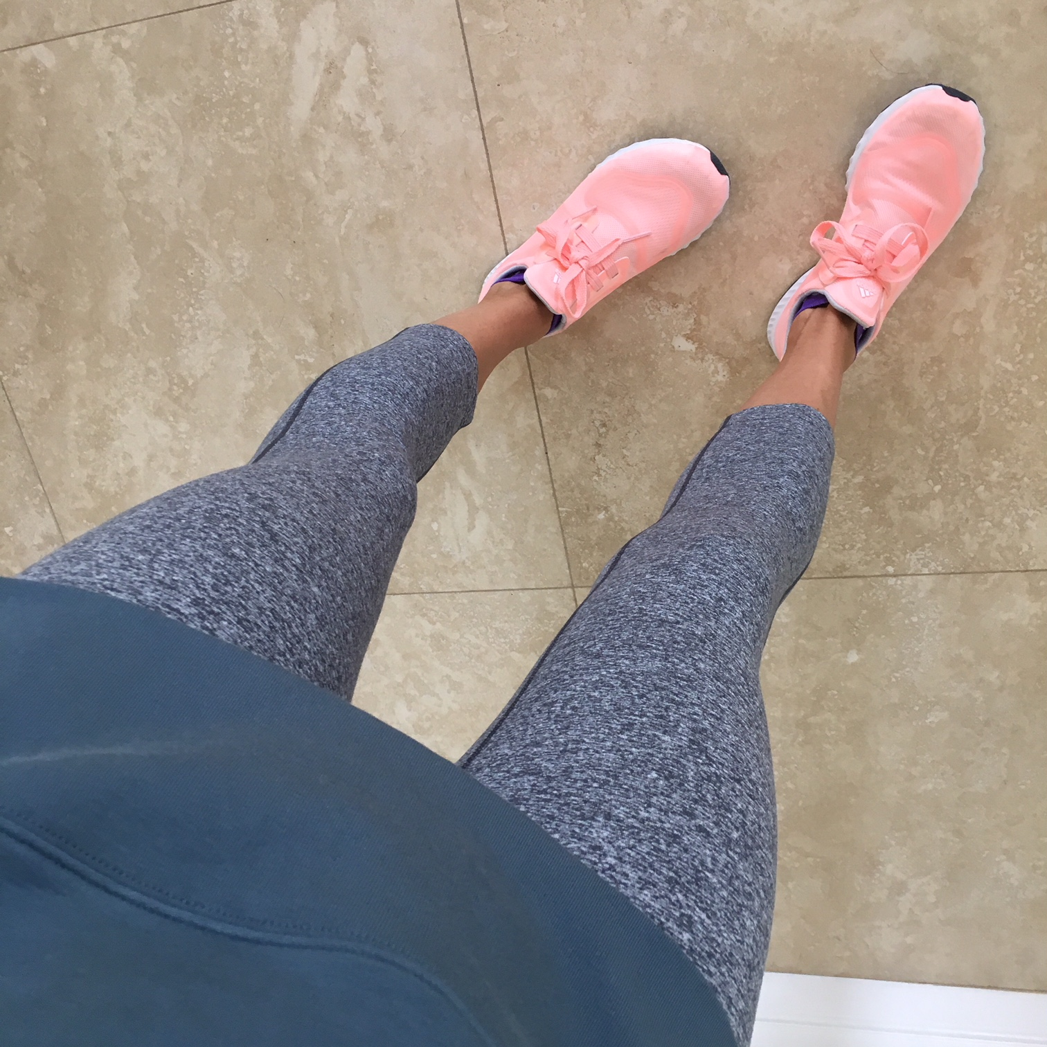 pink workout sneakers