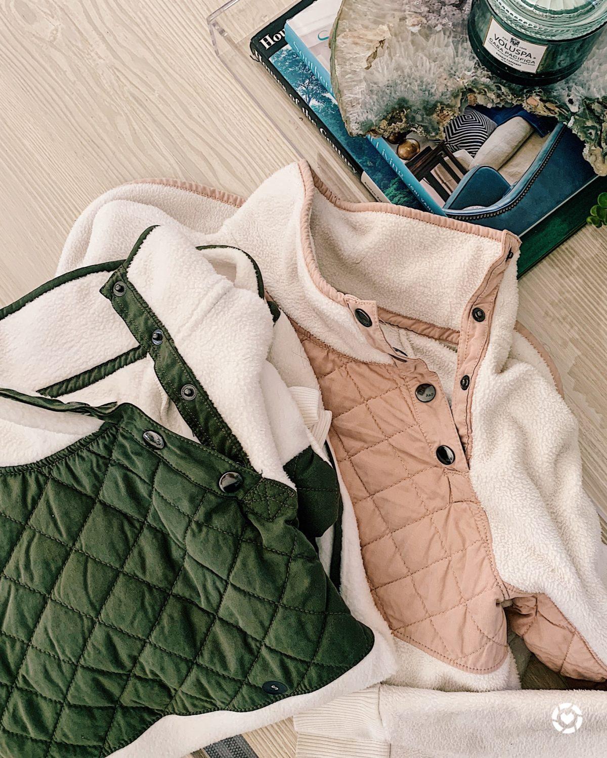 asymmetrical snap fleece