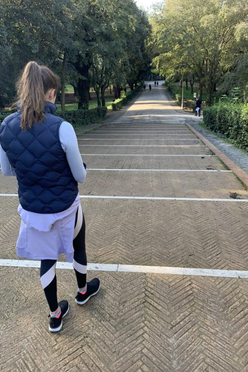 rome vacation workout