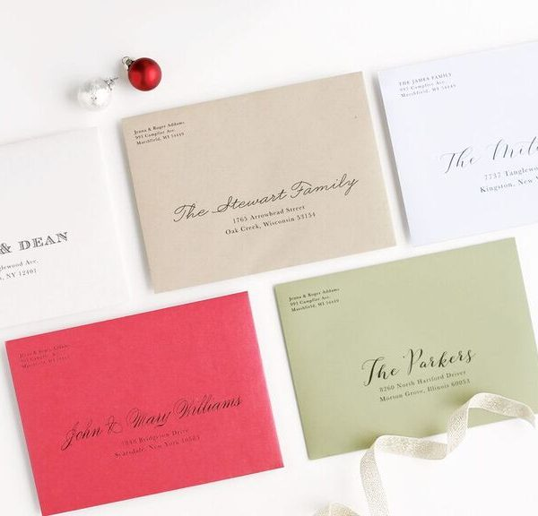 Christmas Cards with Basic Invite