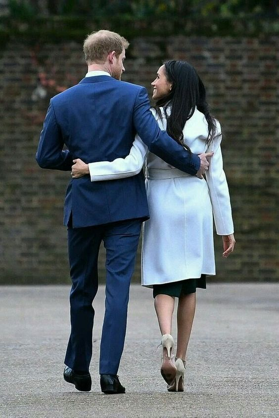 meghan and harry candid
