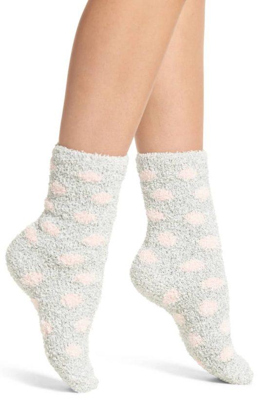cozy butter socks