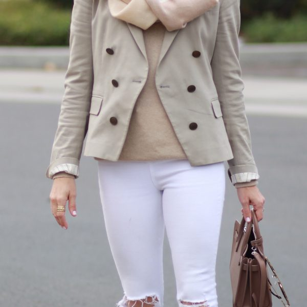 Neutral Blazer Outfit