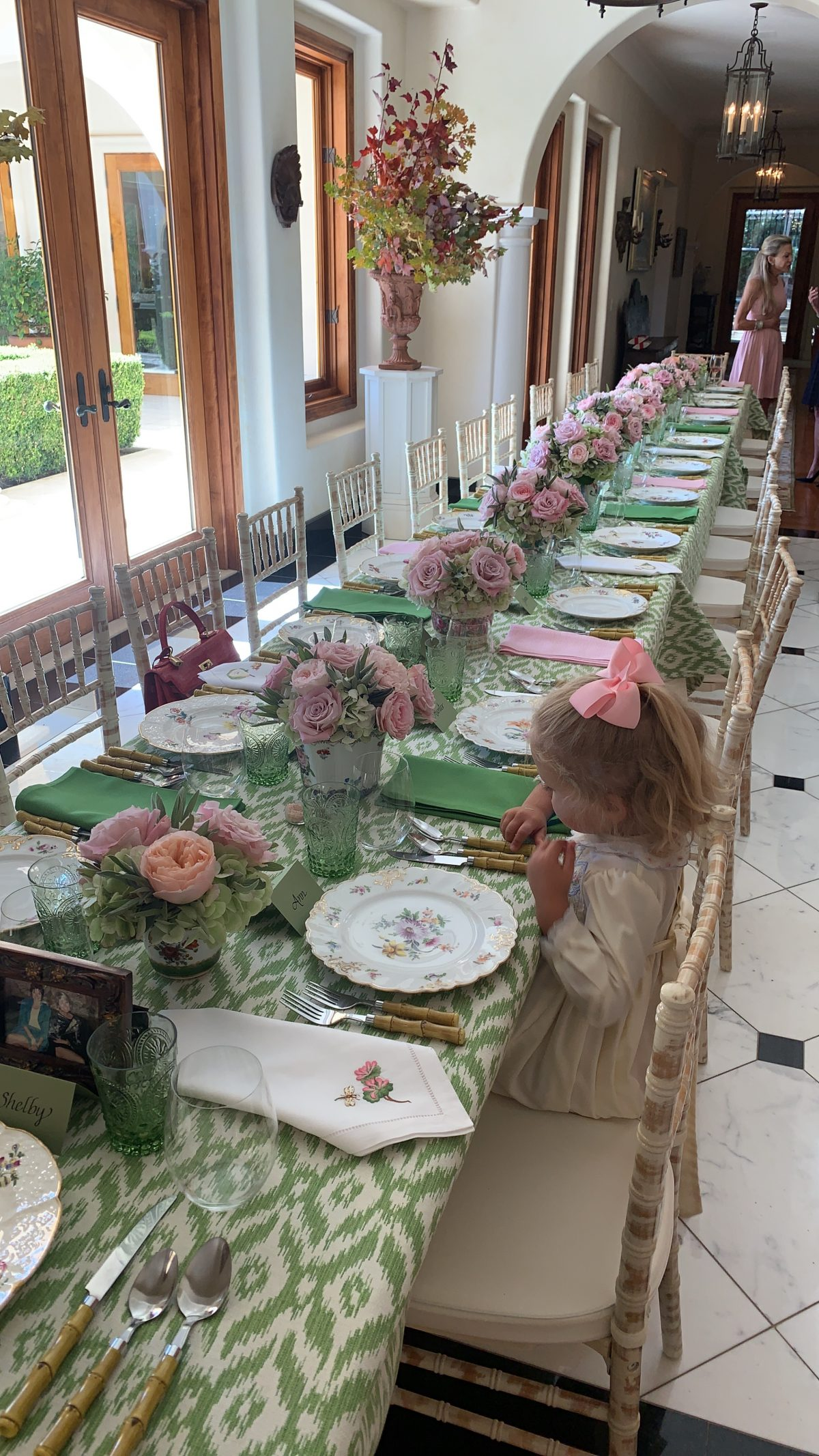 Madrid at a girls luncheon