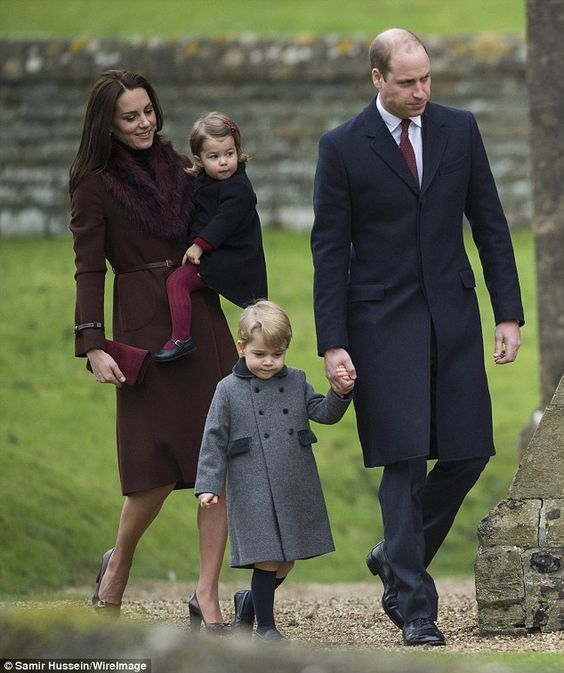 Prince George and Princess Charlotte Christmas