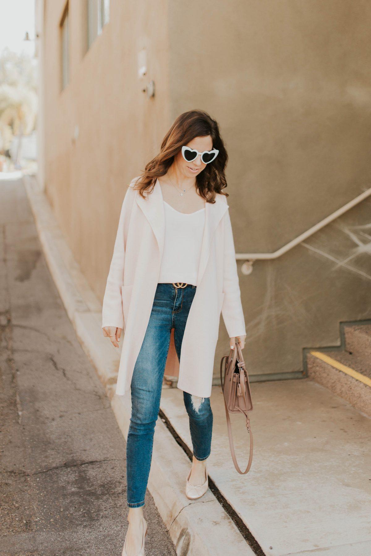 white heart sunglasses