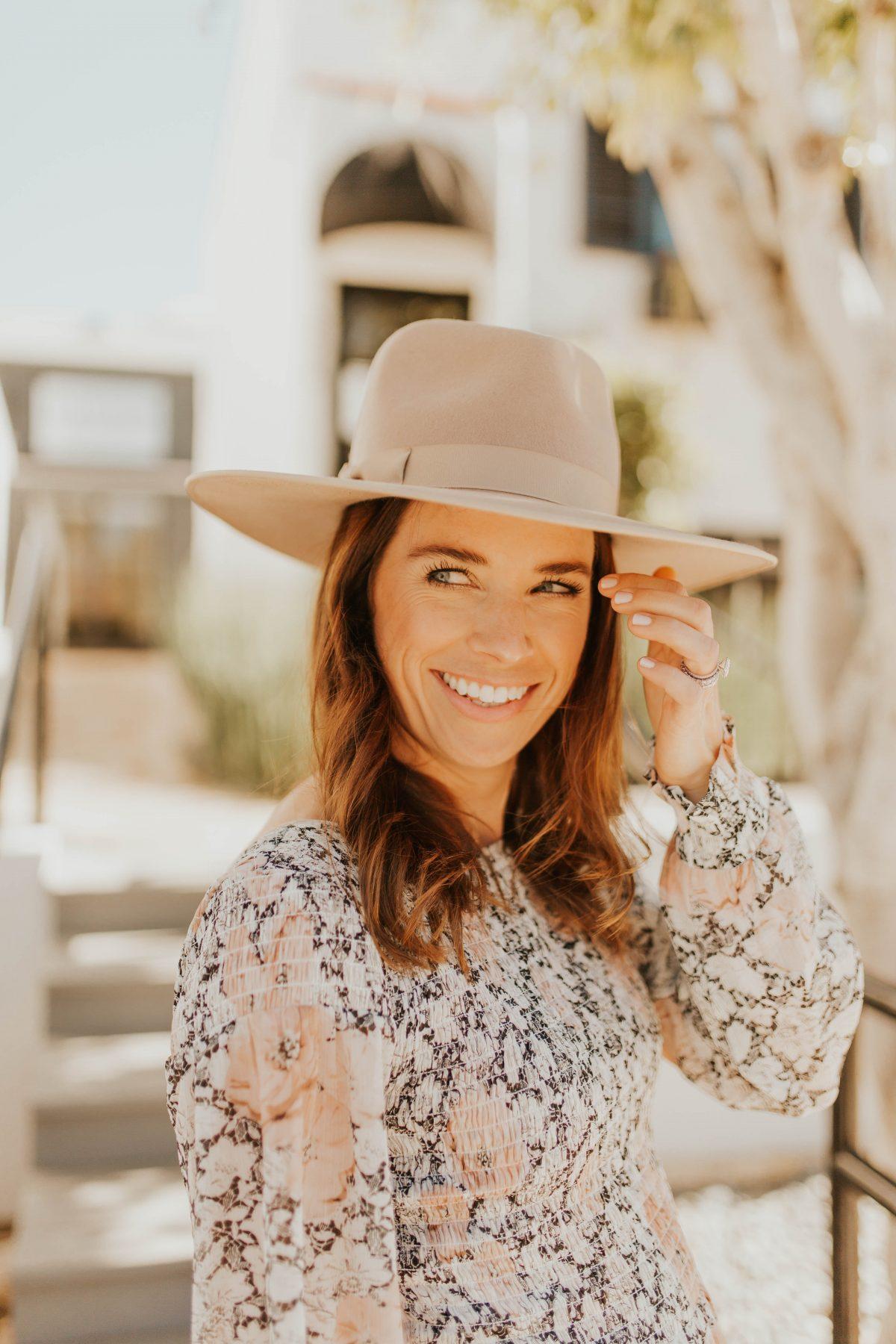 lack of color rancher fedora hat