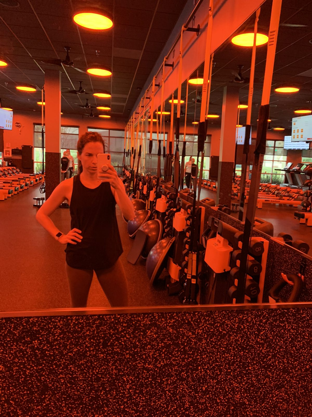 orange theory addict