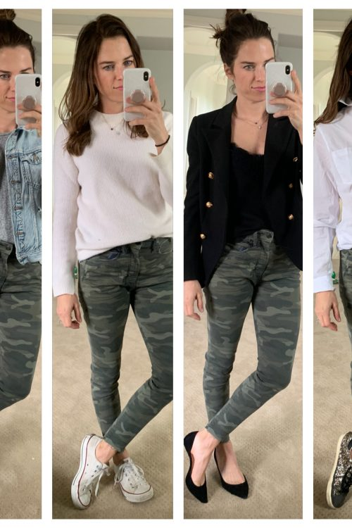 how to style camo pants