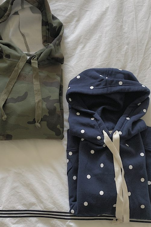 What I Bought Last Week: Camo Hoodie, Tiered Sundresses and Skin Serum