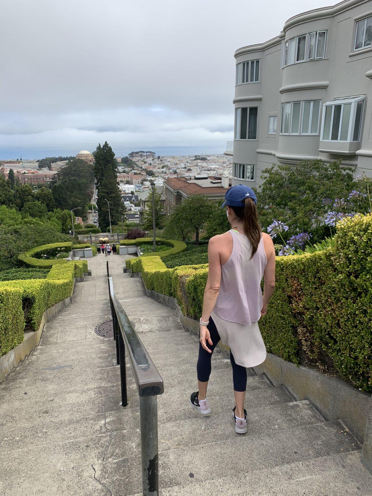 san francisco lyon street steps workout