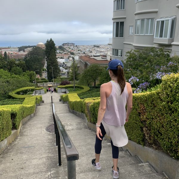 Workout Wednesday: Doing the Lyon Street Steps and getting to OTF before the airport