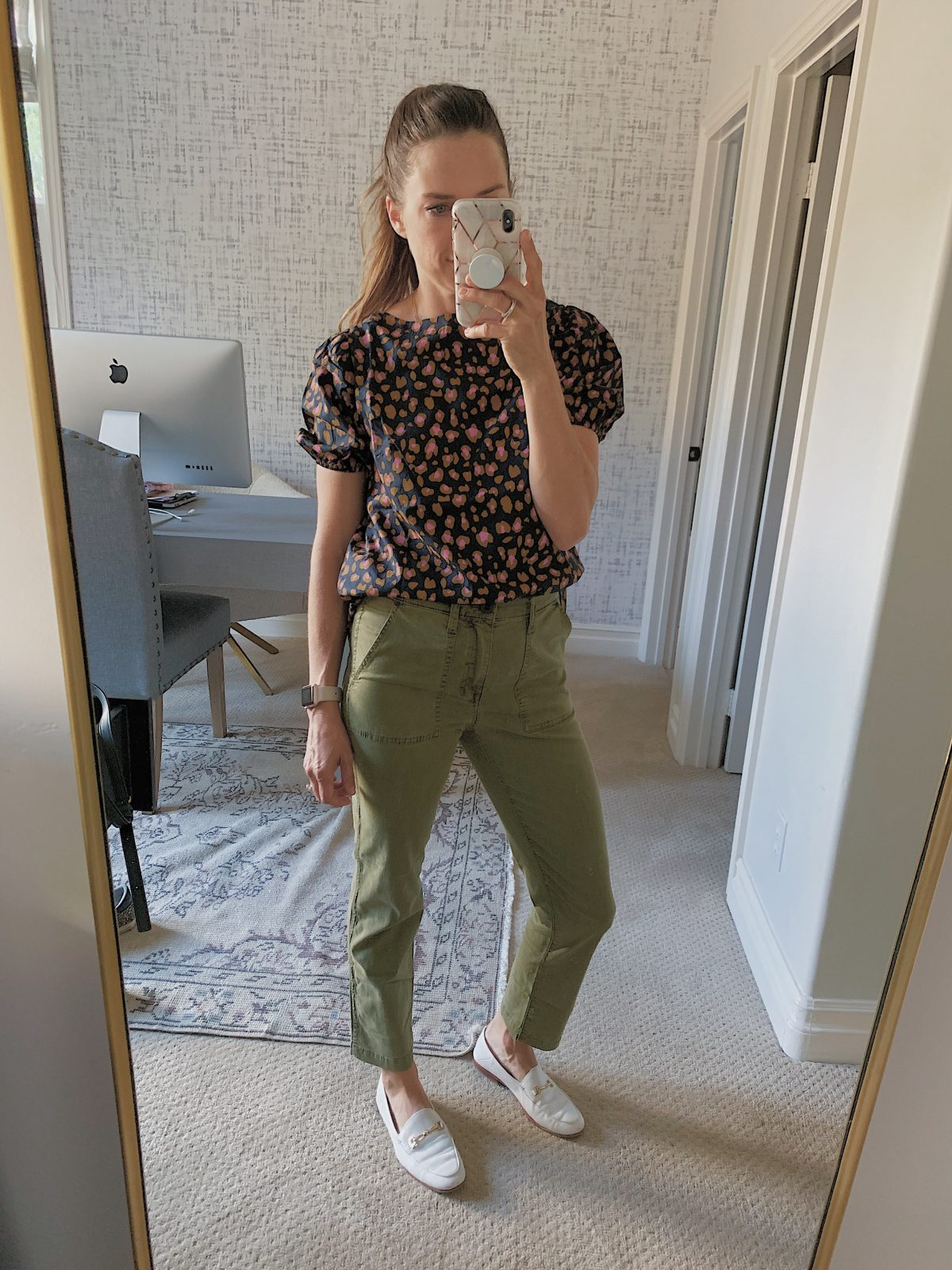 perfect army green pants