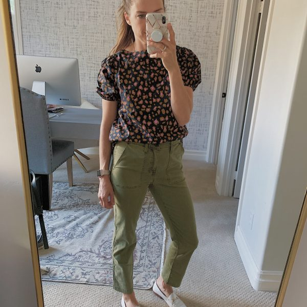 What I Bought Last Week: The Perfect Army Green Pants